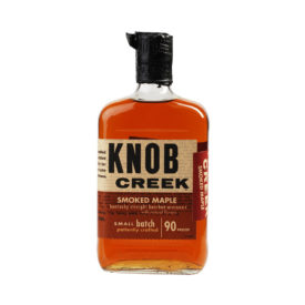 KNOB CREEK SMOKED MAPLE KENTUCKY STRAIGHT BOURBON WHISKEY SMALL BATCH 750ML - BOU0015