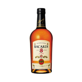 BACARDI 8 YEAR RUM 750ML - RUM0114
