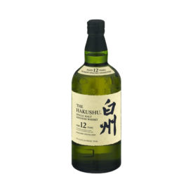 HAKUSHU JAPANESE WHISKY 12 YR 750ML - JSW0002
